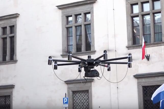 Drony będą mierzyć zanieczyszczenie powietrza w Krakowie?
