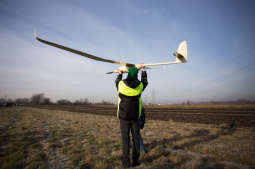Dron sprawdził jakość powietrza nad Nowohuckim Obszarem Gospodarczym