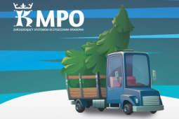 MPO zbierze bożonarodzeniowe choinki