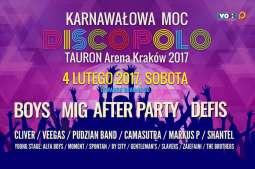 """""""Karnawałowa Moc Disco Polo"""" w TAURON Arenie Kraków! [KONKURS]"""
