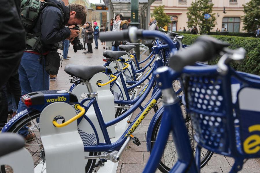 Na wiosnę Wavelo rozstawi więcej stacji i rowerów