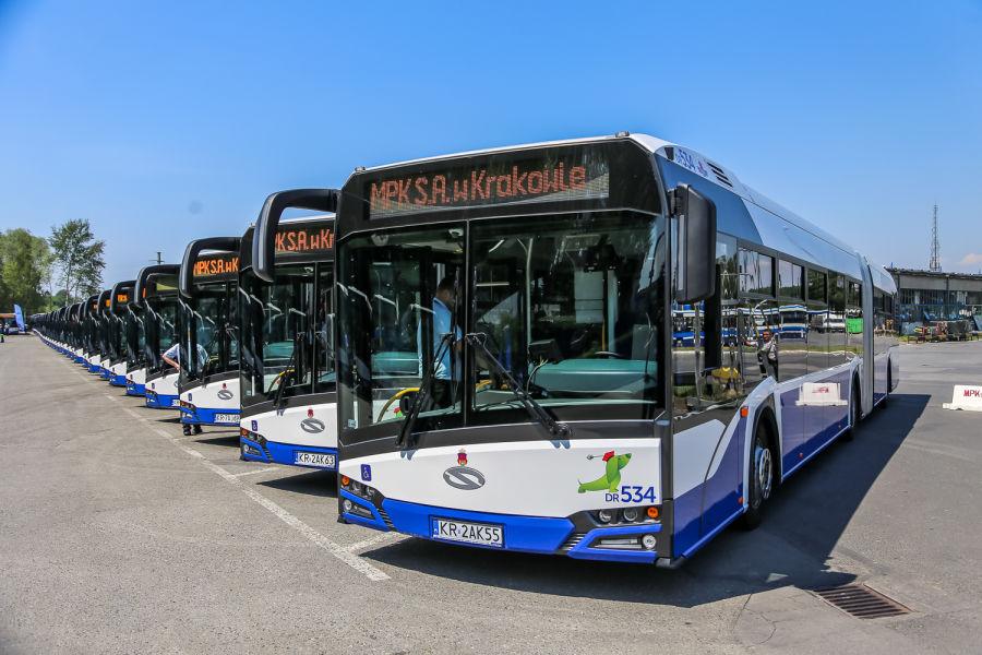 Krakowianie pojadą 77 nowymi ekologicznymi autobusami