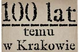 Kraków 100 lat temu (1907)
