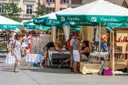 Odwiedź Targi Sztuki Ludowej na Rynku Głównym