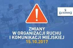 Półmaraton Królewski: w niedzielę zmiany w organizacji ruchu
