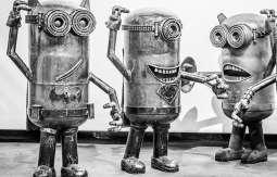 Galeria Figur Stalowych w Muzeum Inżynierii Miejskiej