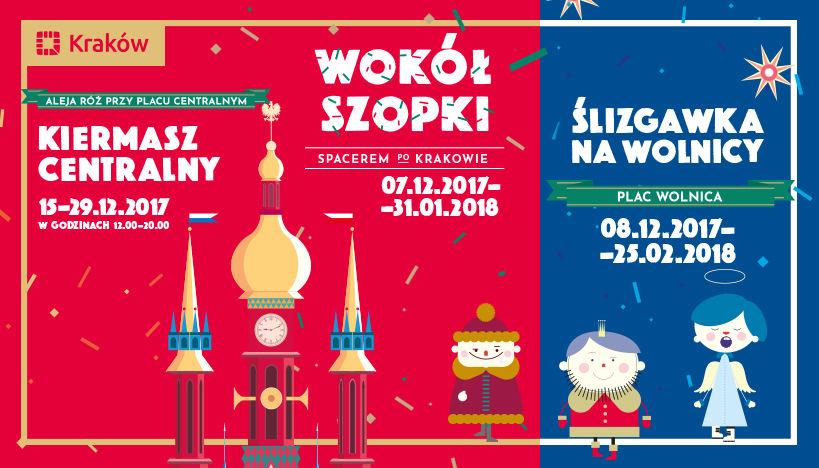 Świąteczna atmosfera w Krakowie nie tylko podczas Bożego Narodzenia!