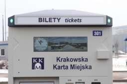 Nowoczesne automaty biletowe dla mieszkańców aglomeracji krakowskiej
