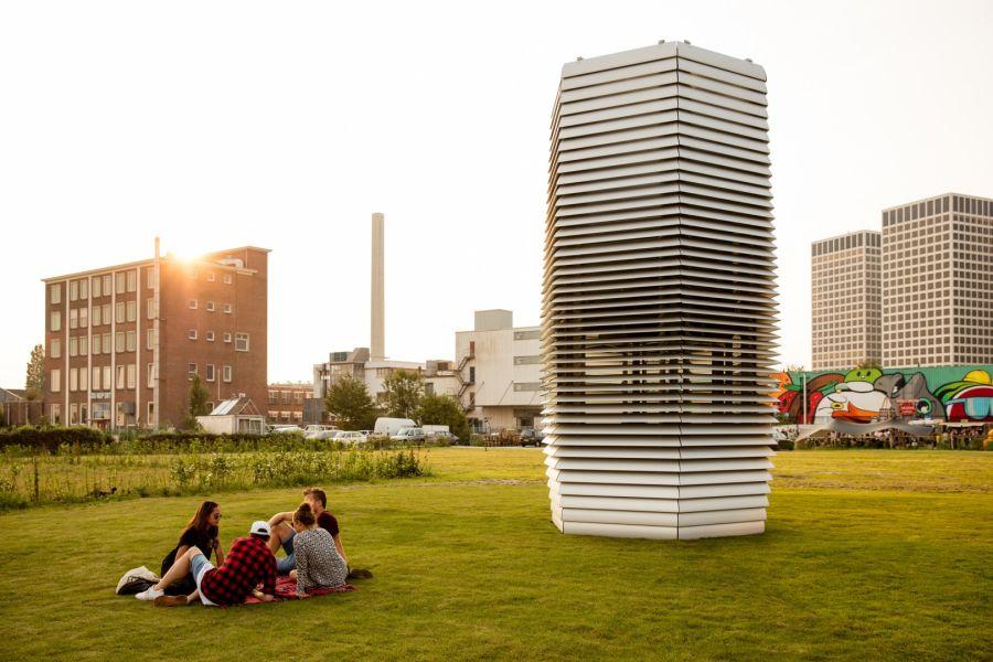 Instalacja oczyszczająca powietrze stanie w parku Jordana