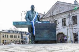 Odsłonięto rzeźbę prezydenta Juliusza Lea
