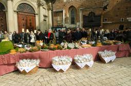 Zapraszamy na tradycyjne święcenie pokarmów przed Bazyliką Mariacką