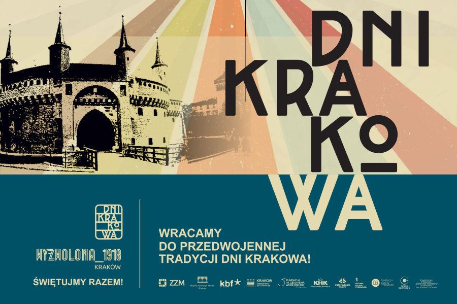 Świętujmy razem Dni Krakowa! Zobacz program