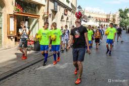 Przeszedł żonglując piłką z Rynku Głównego na kopiec Kościuszki