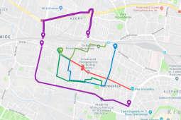 Remont trasy do Bronowic – zmiany w organizacji ruchu [MAPA]