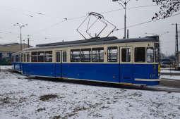 Kolejny zabytkowy tramwaj w kolekcji MPK