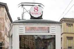 Specjalny tramwaj na Dzień Kobiet