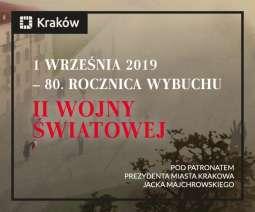Krakowskie obchody 80. rocznicy wybuchu II wojny światowej