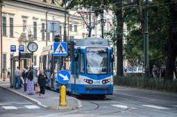 Sobota bez tramwajów na ulicy Kościuszki