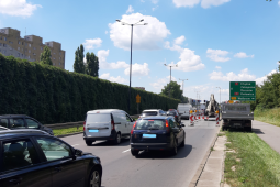 Budowa linii tramwajowej, utrudnienia na ul. Opolskiej