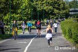 """Miejskie kontrole rowerów w ramach projektu """"Handshake"""""""