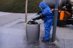 MPO znów dezynfekuje chodniki i przystanki