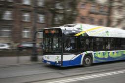 Miejskie autobusy pojadą częściej