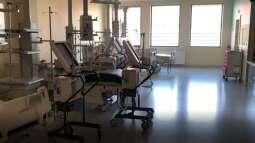 Szpital tymczasowy dla pacjentów z Covid-19