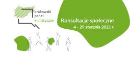 Zielona kładka o. Bernatka na start Krakowskiego Panelu Klimatycznego
