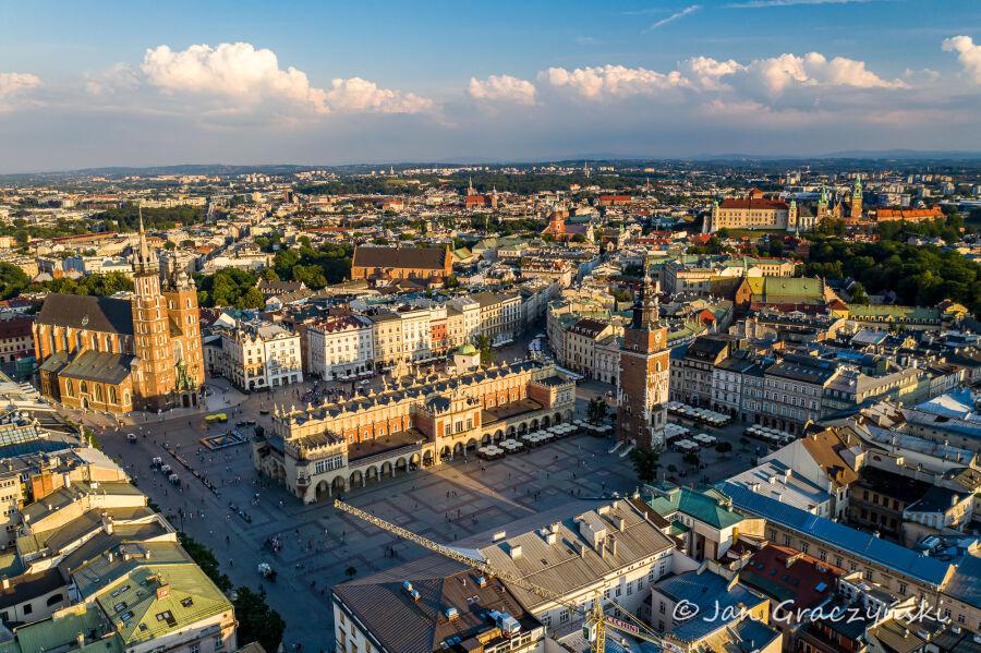 Kraków w czołówce najczystszych miast Polski