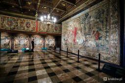 Zobacz arrasy króla na Wawelu