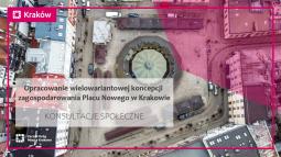 Konsultacje społeczne w sprawie zagospodarowania placu Nowego