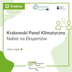 Nabór na ekspertów Krakowskiego Panelu Klimatycznego