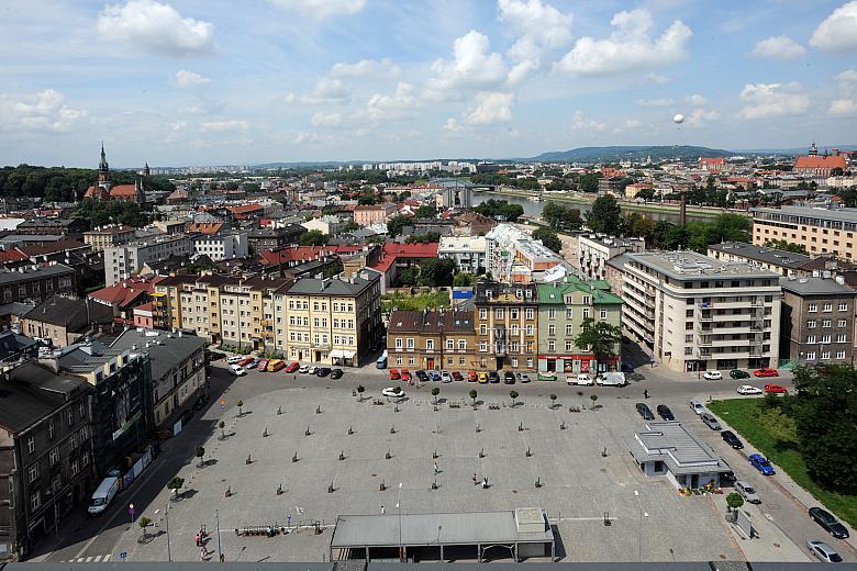 Polish Ghetto Square--