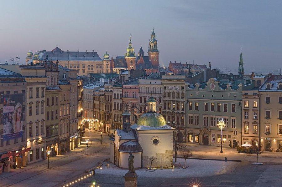 Krakow Hotels' Winte...