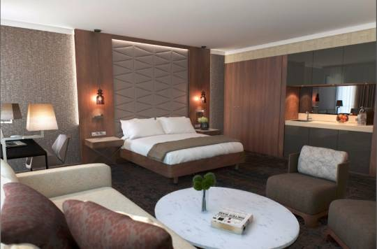 Doubletree by Hilton Krakow Hotel and Convention Center | Hampton by Hilton Krakow - Junior Suite