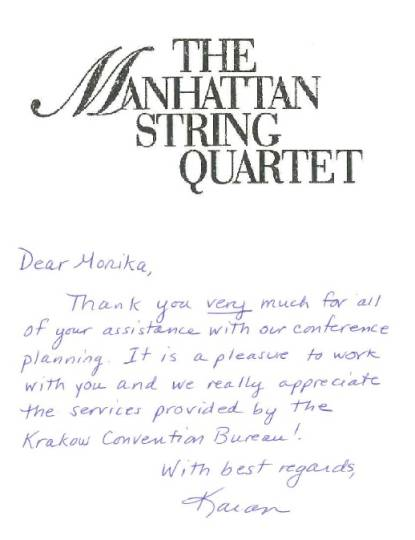 The Manhattan String Quartet