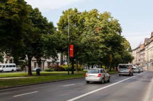 Rules of movement of vehicles around Krakow