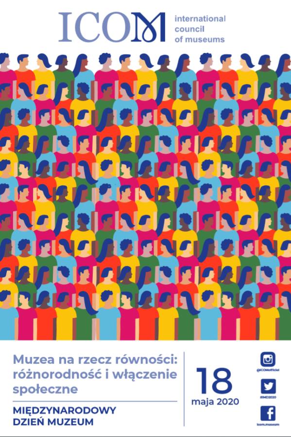 Międzynarodowy Dzień Muzeów 2020 plakat