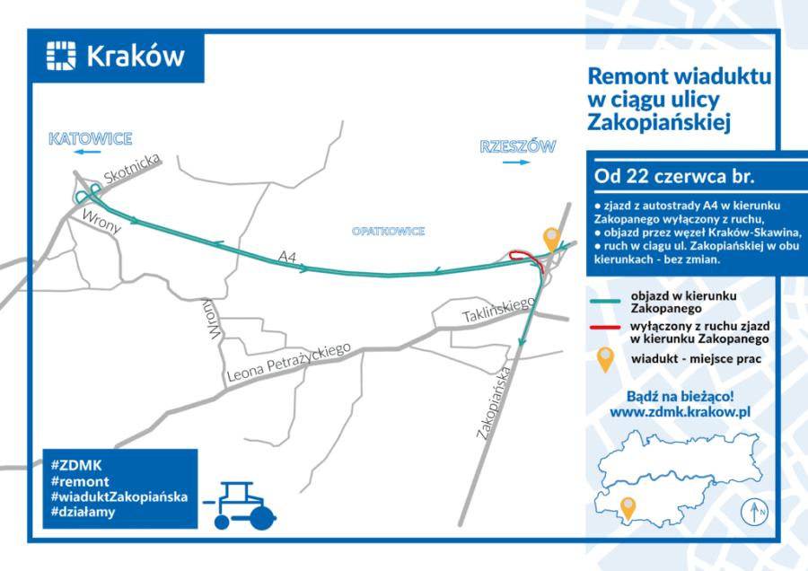 remont-wiadukt-ul.-Zakopiańska-czerwiec-2020