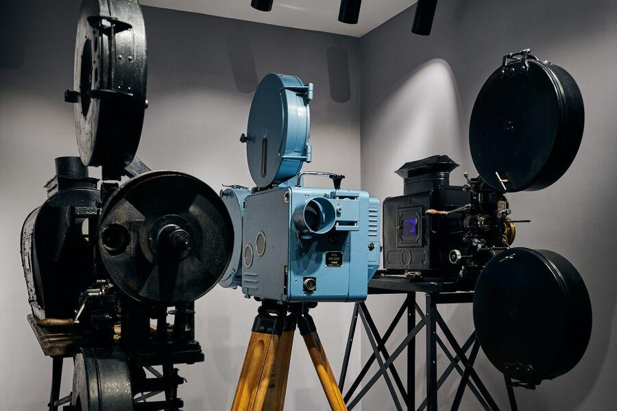 MuFo, Muzeum Fotografii, willa Józefitów 16, magazyn, sprzęt kinematograficzny